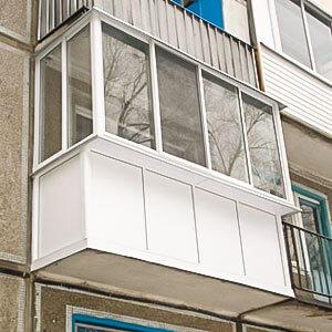 Балкон в хрущевском доме